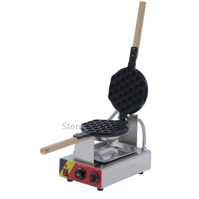 Electric Stainless Steel Egg Waffle Maker Egg Cake Oven Egg Puff machine Non-stick Pan free shipping 5pcs rtl8111dl qfp in stock