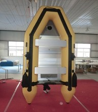 Anti-collision laminated inflatable ship