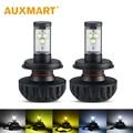 Auxmart LED Headlight Kit Car Light Bulb H4 H7 HB3 9005 HB4 9006 CREE Chips Head Lamp Dipped Beam High Beam 3000K 4300K 8000K