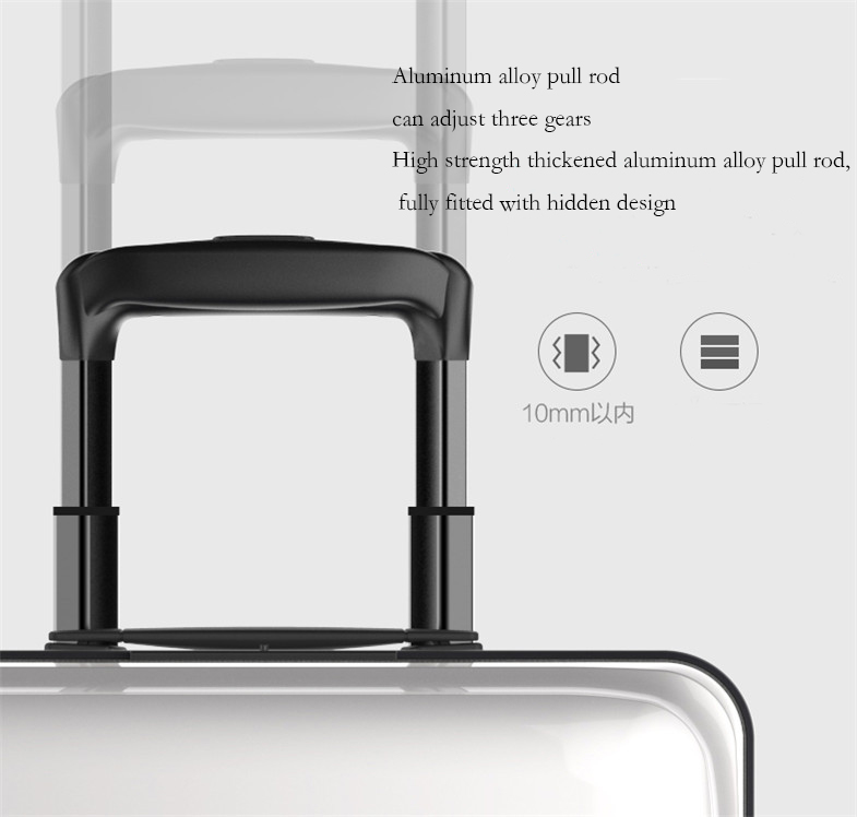 Smart follow suitcase 47