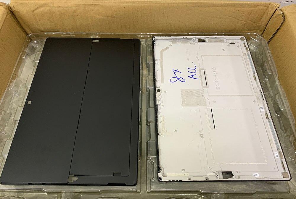 For Microsoft Surface Pro 6 Housing Back Cover Case  Frame Bezel REAR CASING / COVER / Housing  Black Color