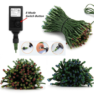 Image 3 - 10M 20M 30M 50M 100M 24V Veilige Spanning Groene Kabel LED String lights Kerst fairy Lights voor Xmas Bomen Party Bruiloft Evenementen