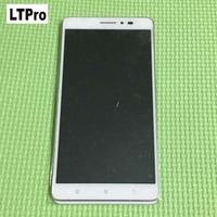 100 Warranty White LCD Display Touch Screen Digitizer Assembly With Frame For Lenovo A936 Note 8
