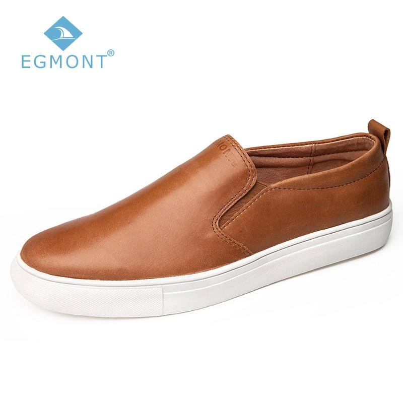 Verano Casuales Primavera Hombre Cómodo Zapatos Barco Eg Hecho Egmont 86 Respirable Brown Para Cuero Mocasines Mano Genuino A Marrón qwxgIc04
