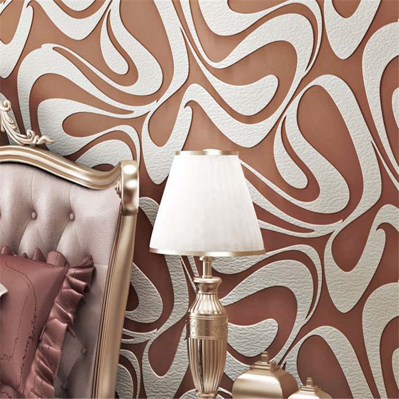 modern simple 3D abstract non-woven background wallpaper roll for living room bedroom wallpaper roll desktop decor wall papers