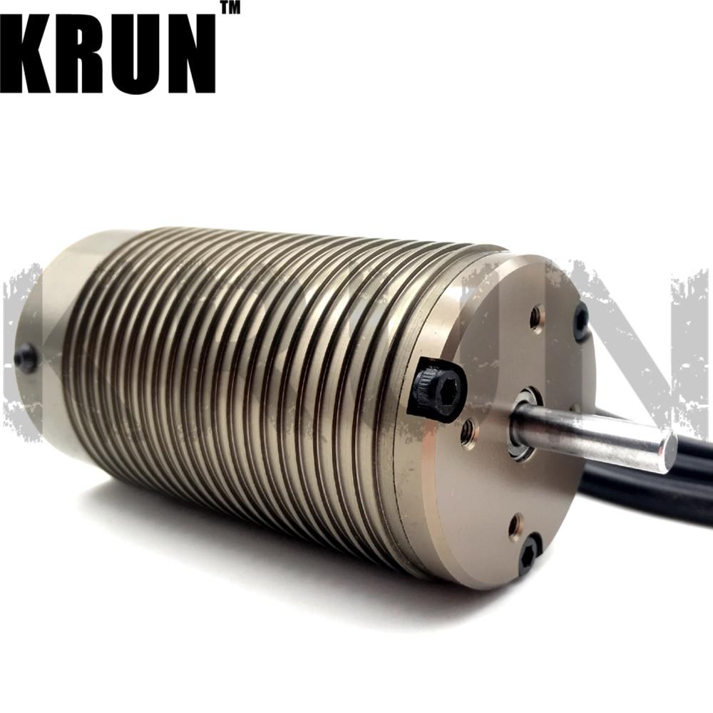 4274 No Sense 4 Poles 2200KV High Frequency Brushless Motor Black for 1 8 Rc Car