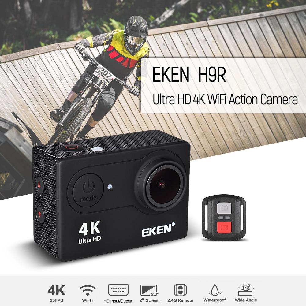 EKEN H9 Action Camera Action H9R Ultra HD 4K 25fps WiFi 2 0 Sport Action Camera