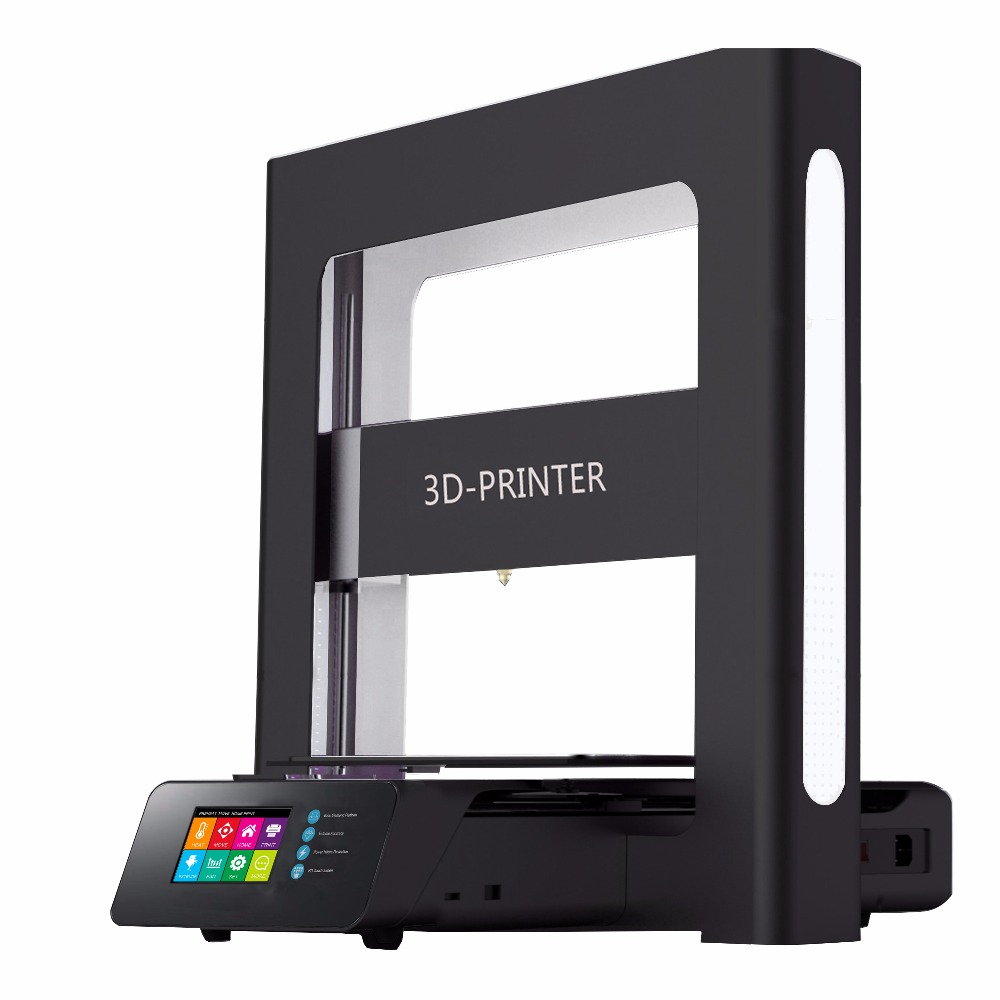 A5 3D Printer with Touch Screen High Accuracy Mini Printing Machine ABS PLA DIY Kit for Home Use Desktop Printer 3D image