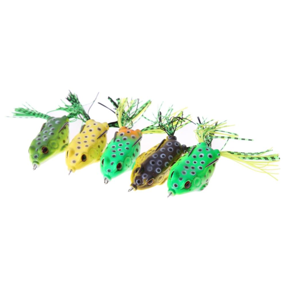 5Pcs Bretkosat me Lesh të butë me Stad të - Peshkimi