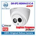 Dahua câmera ip dh-ipc-hdw4431c-a hd 1080 p de segurança cctv apoio câmera 4mp poe ipc-hdw4431c-a microfone embutido firmware inglês