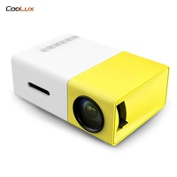 Coolux YG300 YG 300 LCD LED Portable Projector Mini 400 600LM 1080p Video 320 X 240