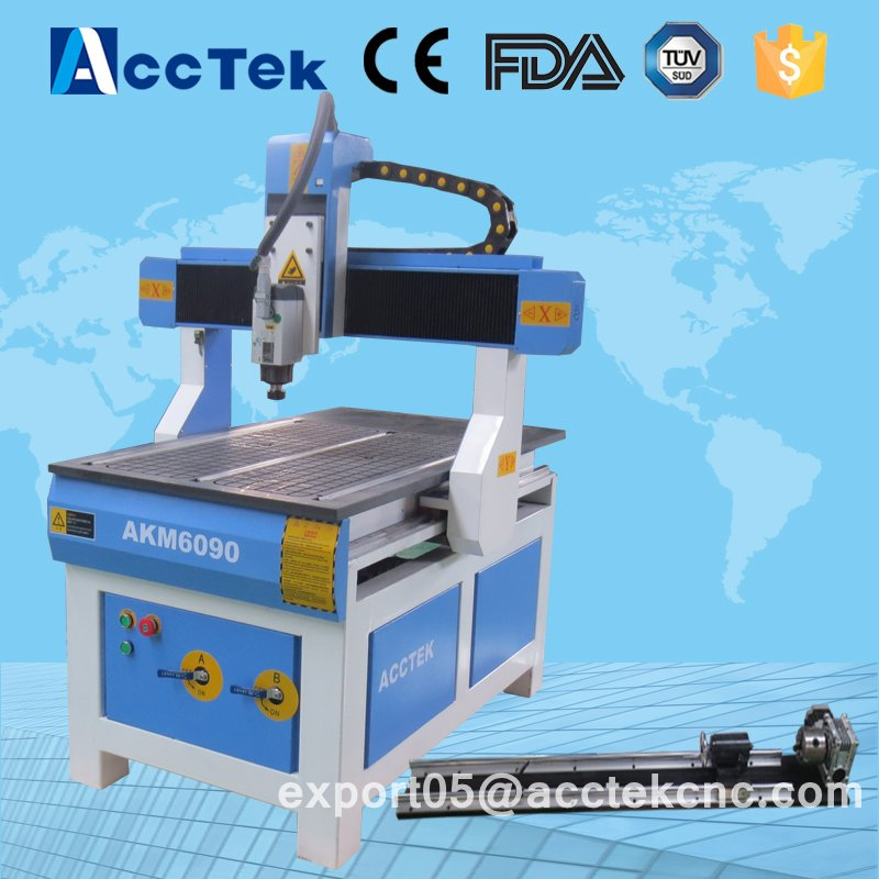 AKM6090 Acctek mini desktop wood portable cnc router machine with cost-effectiveAKM6090 Acctek mini desktop wood portable cnc router machine with cost-effective