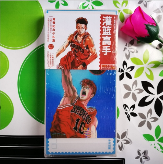 180pcsset Anime Slamdunk Postcard toy Slam dunk Magic Paper Postcard Collection Card toys gifts