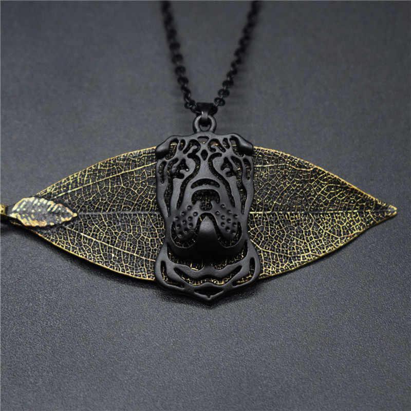 שדוני טרנדי סיני שר פיי שרשראות זהב צבע כסף צבע כלב תכשיטי סיני שר פיי תליון שרשראות נשים גברים