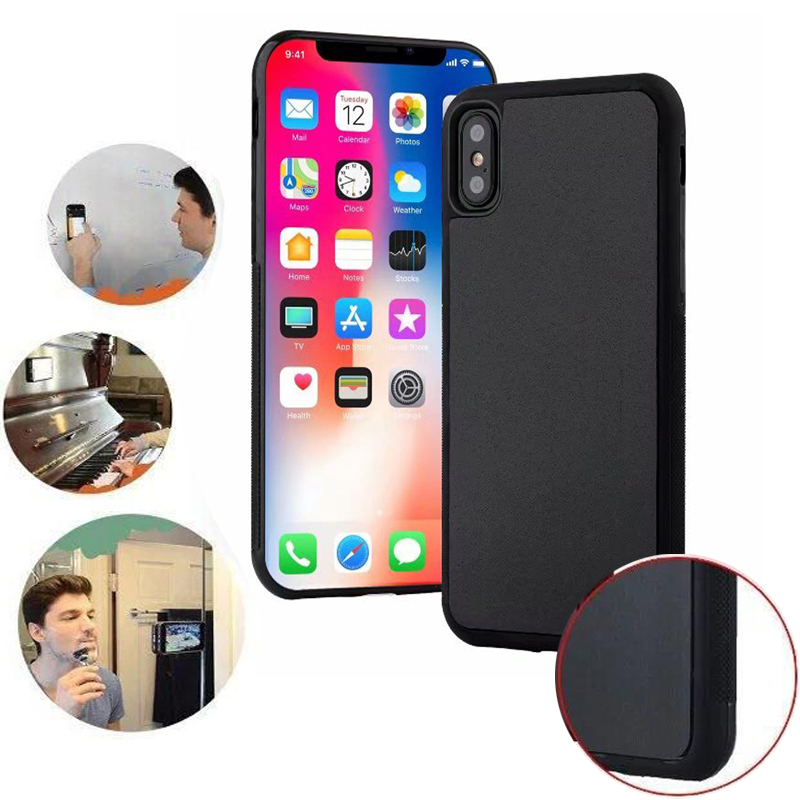 Anti Gravity Phone Case For IPhone 11 Pro Max XR X XS 8 7 Plus 6 6S SE 5 5S Shockproof Cases Magical Nano Suction Adsorbed Cover