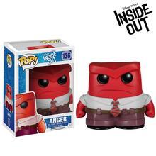 Оригинальная Виниловая фигурка Funko POP Inside Out-Anger Bobble Head Коллекционная модель игрушки с оригинальной коробкой