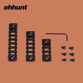 Ohhunt Pack of 3 PCs Picatinny Weaver Rail Mounts Sets 3 Slots 5 Slots 7 Slots for Keymod Handguard Mounts фото