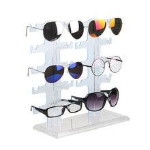 d304c43e5d01c6 1 stks 4 Lagen Eenvoudige Handige Plastic Bril Brillen Zonnebril Tonen  Standhouder Fashion Frame Display Rack
