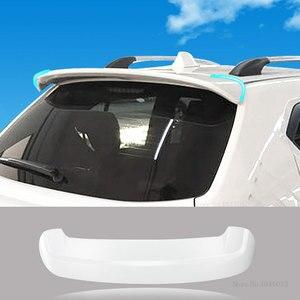 Для Suzuki Ignis 2017 2018 2019 задний белый Спойлер ABS пластик Неокрашенный праймер цвет задний Багажник крыло черный спойлер Стайлинг автомобиля