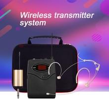 лучшая цена G-MARK G101 Professional Wireless Microphone Headset System Transmitter&Receiver headband headworn microphone set