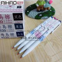 12 Pens Box Brand Erasable Gel Pen 0 5mm Black Blue Dark Blue Large Capacity Bullet