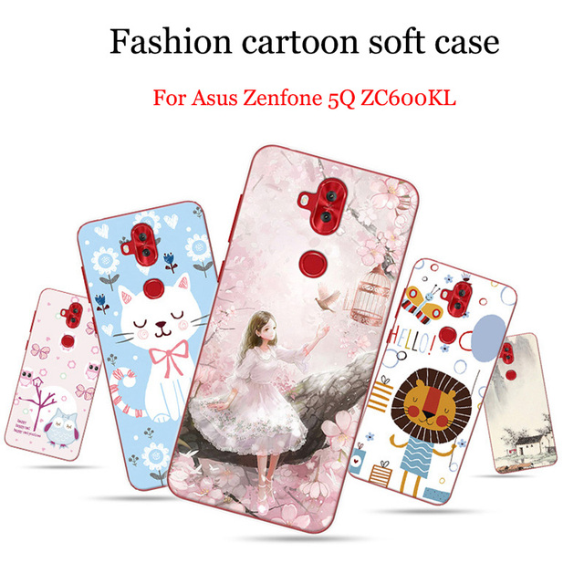 online store bc1ff 7edec US $10.77 |2PCS Cases For Asus Zenfone 5Q Case For Asus Zenfone5Q Case Soft  back cover For Asus ZC600KL Cover For ASUS Zenfone 5 Q shell-in Phone ...