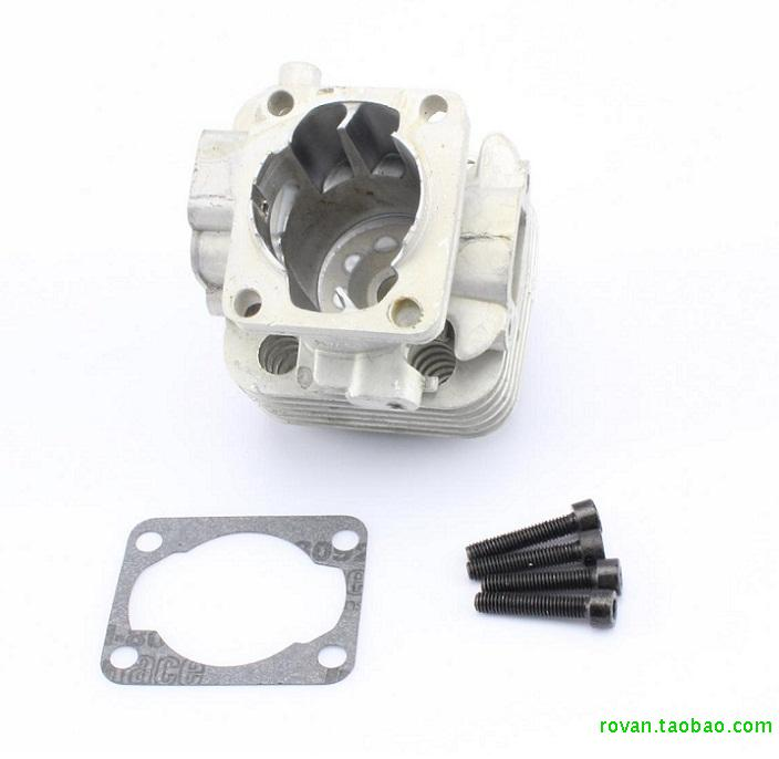RC parts Baja 26CC 27.5CC 29CC 30.5CC fout bolt Engine cylinder head fit Zenoah cnc aluminum water cooling jacket for 29cc zenoah engine rc boat