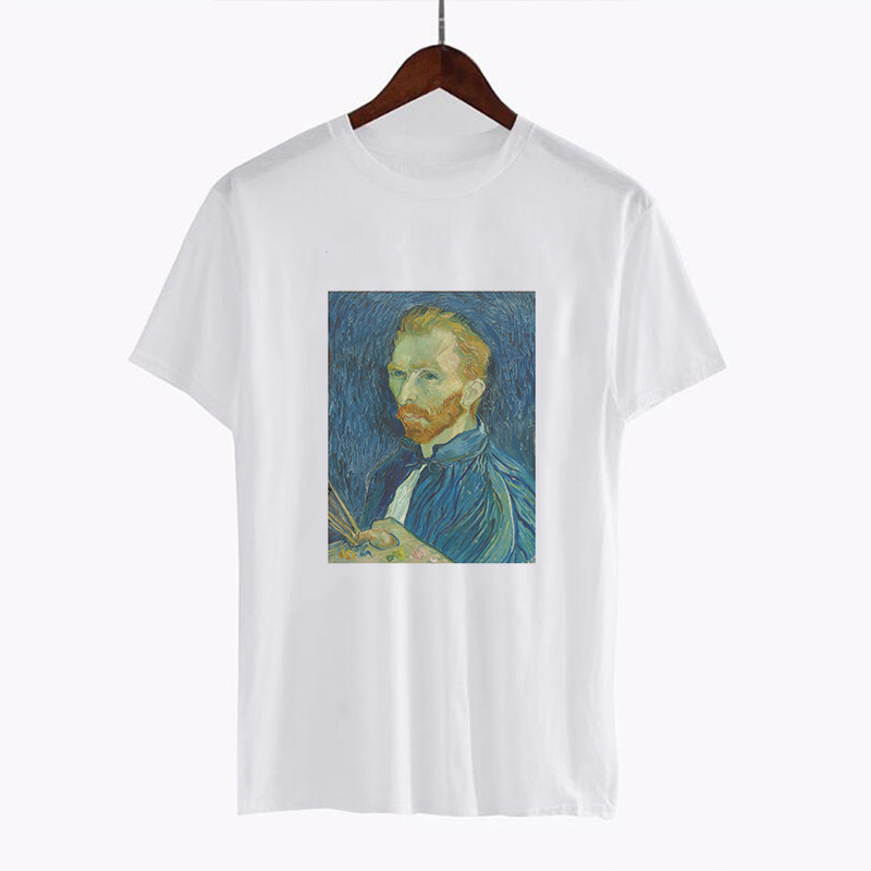 Women 39 s Fashion Tees Tops Vincent Willem Van Gogh Post Impressionism Printed Clothes Plus Size Shirts Harajuku Summer T shirt in T Shirts from Women 39 s Clothing