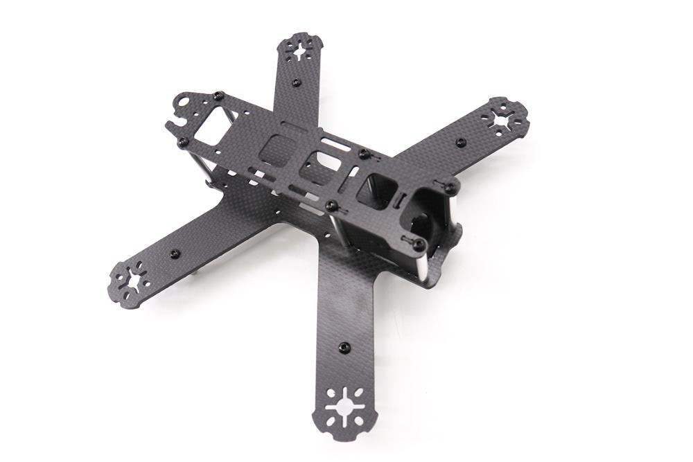 Image 4 - TCMM 5 Inch Drone Frame LS 210 Wheelbase 210mm Bottom Fuselage In One Make 3mm Carbon Fiber Arm For Rc Drone-in Parts & Accessories from Toys & Hobbies