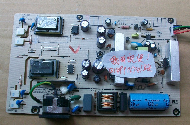 Free Shipping>!  FP71G + u Power Board 491001400000R ILPI-032-Original 100% Tested Working free shipping fp71g power board fp91g power board 4h l1c02 a30 a31 con tor 100% tested working
