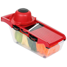 10pcs Vegetable Cutter With Steel Blade Slicer Potato Peeler Carrot Grater Kitchen Accessories
