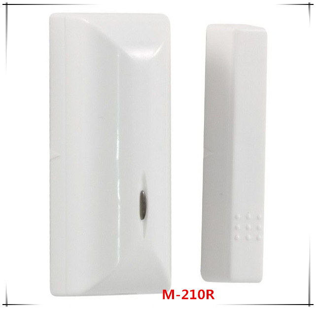 868Mhz Magnetic door detector wireless door /window sensor intruder alarm system Works with ST-VGT And ST-IIIB alarm system wireless door window detector sensor for alarm system detect door windows drawer illegally open and close window magnetic 2pcs