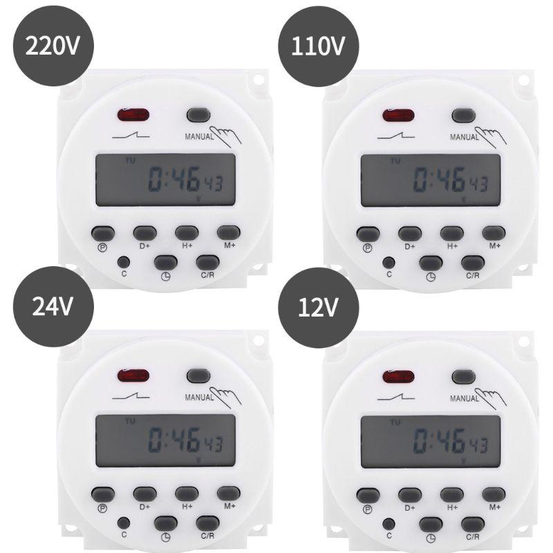 Temporizador electrónico programable contra el Control de tiempo interruptor de relé pantalla LCD Digital de 12/24/110/220V Empleado escaneando huella dactilar en la máquina para registrar el tiempo de trabajo 2000 usuarios más baratos asistencia máquina TimeTrak sistemas