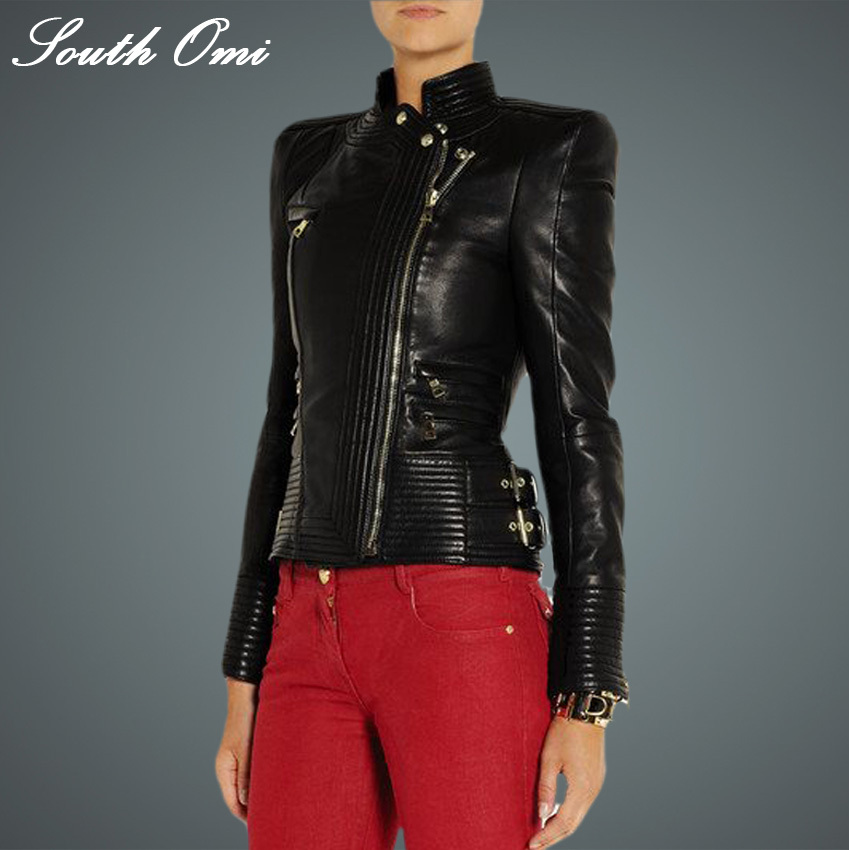 Buy Leather Blazere And Get Free Shipping On Aliexpress Com