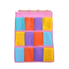 Multicolor handing bag Organiser storage high quality 56*41.7CM  free shipping