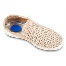 For Men Shoe-Pad Rubber Gel Pain Heel Spur Cup Insoles Support Shoe Cushion Inserts