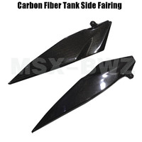 New Motorcycle Carbon Fiber Tank Side Cover Panel Fairing For Yamaha YZF R1 2007 2008