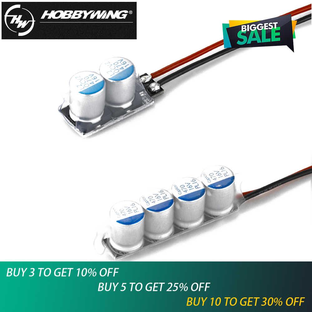 1 pièces Hobbywing Module de condensateur à faible impédance 2/4 pour Ezrun Xerun voiture ESC Super condensateur Module #4 #2 Module