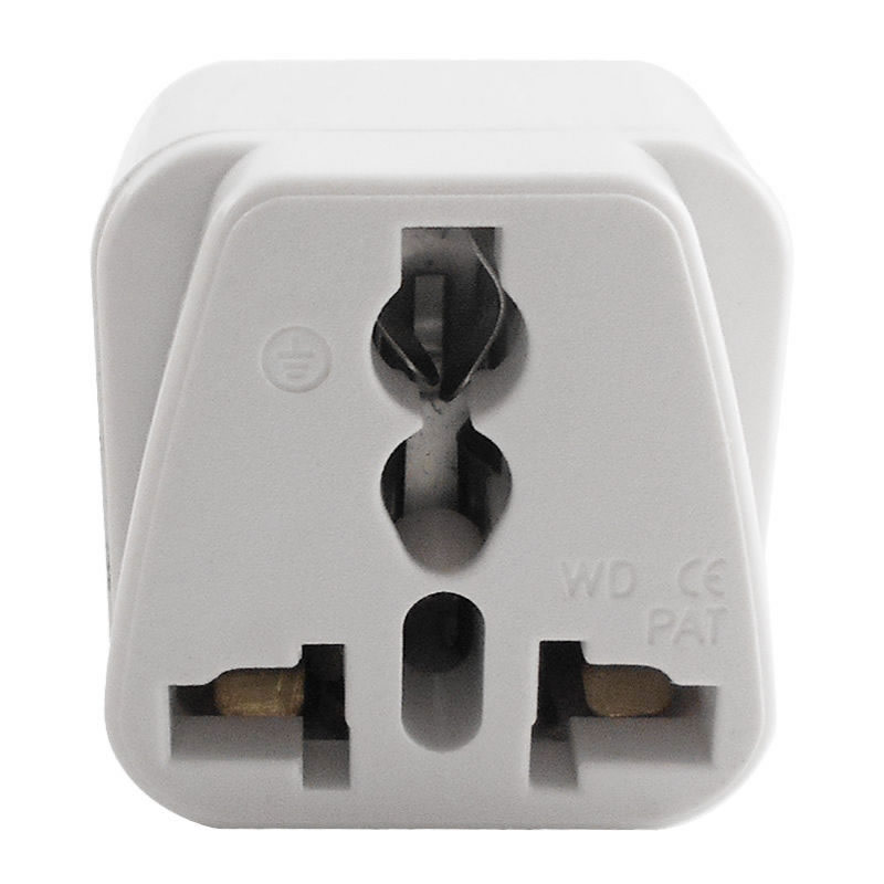 Universal Power Adapter Electric Converter US//AU//UK//EU World Travel AC PVK New