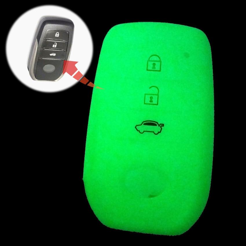 For Toyota Highlander Land Cruiser Riez RAV4 Camry Prado 3 buttons Car Key Case Cover Auto Key Chain Protector