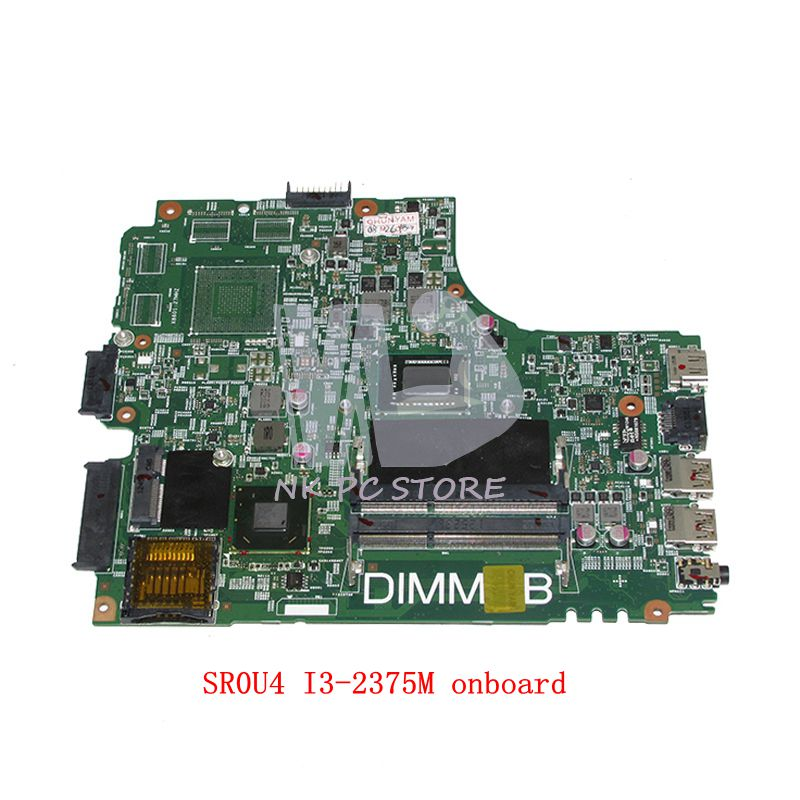 NOKOTION CN-07GDDC 07GDDC 7GDDC For Dell insprion 3421 Laptop Motherboard DNE40-CR MB 5J8Y4 MAIN BOARD SR0U4 I3-2375M nokotion sps v000198120 for toshiba satellite a500 a505 motherboard intel gm45 ddr2 6050a2323101 mb a01
