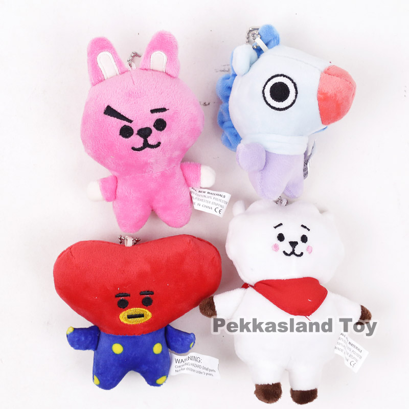 Movies & Tv Dolls & Stuffed Toys Qualified Bts Bangtan Boys Mini Plush Pendants Soft Stuffed Toys Dolls 10pcs/lot