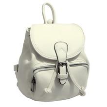 Для женщин кожаный рюкзак Черный и белый простой Рюкзаки небольшой рюкзак Для женщин Колледж ветер рюкзак для девочки-подростка XA392B