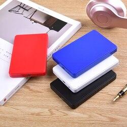Внешний жесткий диск 80 ГБ 120 Гб 160 Гб 250 ГБ 320 ГБ 500 ГБ USB2.0 HDD 2,5