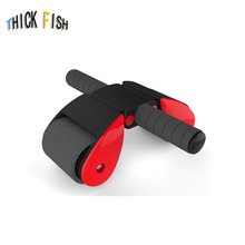 Double Abdominal Wheel Male Female Fitness Equipment Household Body-building Roller Reduce Belly Rebound