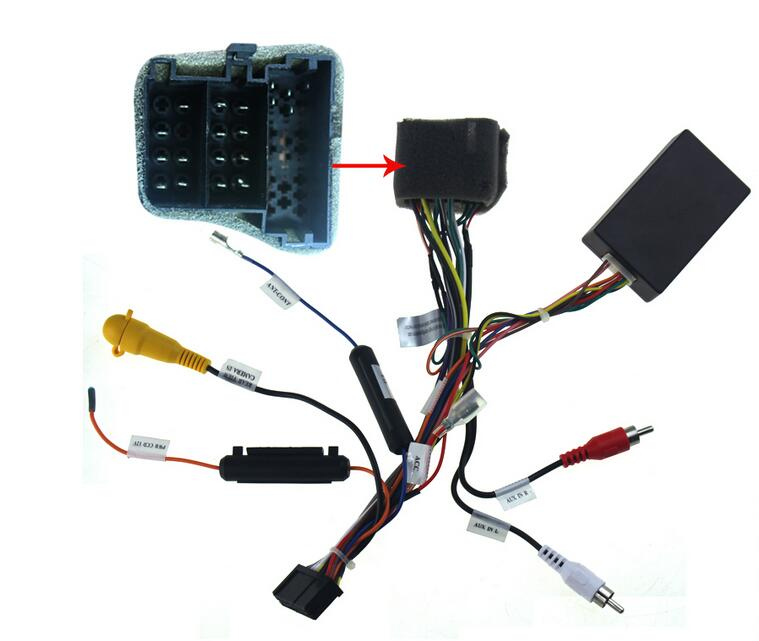 car radio wire harness