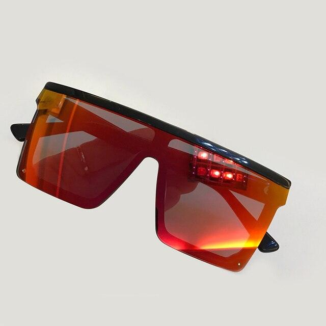 Luxury  Square Sunglasses Women Metal Frame Eyewear 2019 Fashion Oversize Sunglasses Female Sunglasses Women With Original Box