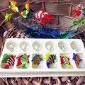 Производитель, Munuola остров стиль плавающей стеклянный аквариум аквариум ручной искусства, миниатюрная скульптура декоративные фигурки рыбок