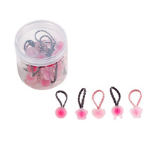 CHIMERA 20 Pcs Children Hair Band Ties Cute Elastic Rubber Bands Holder Accessories Gum for Kids Toddler Girls