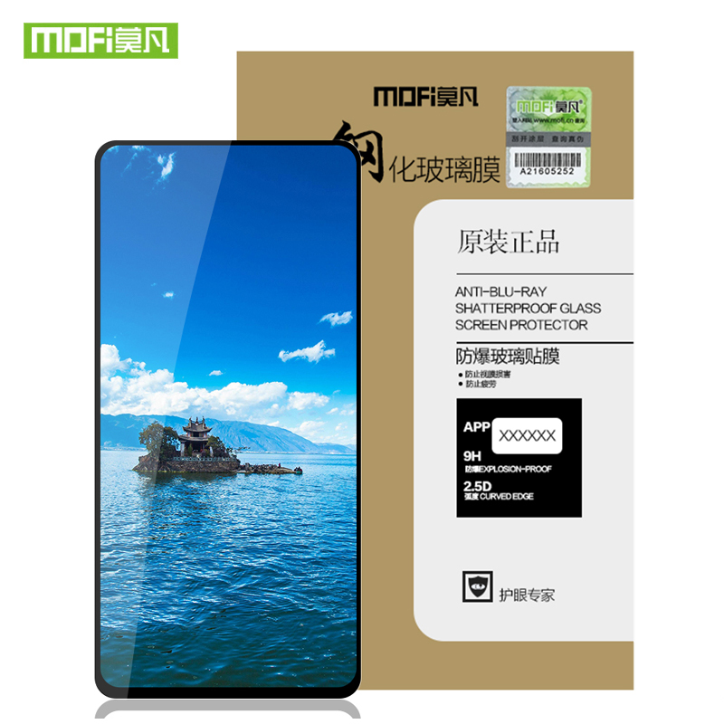 For Samsung Galaxy A50 Tempered Glass MOFi For Galaxy A60 Tempered film glass For Samsung A70 Full Cover screen protector glass